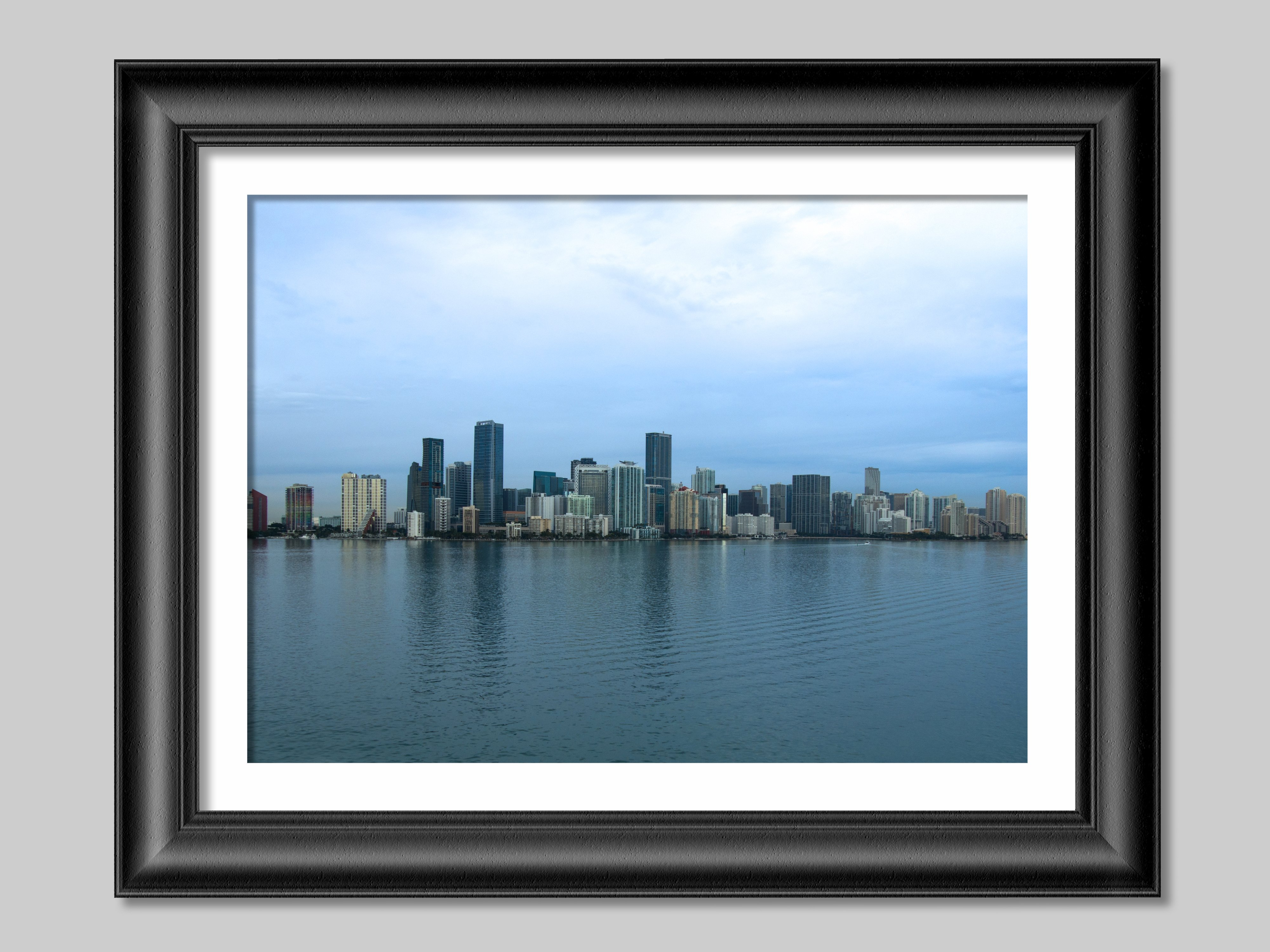USA-Miami skyline